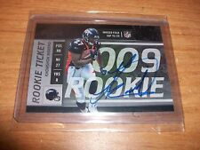 (2) 2009 Football Contenders Knowshon Moreno College Rookie Ticket Auto Cards