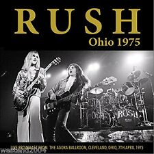 Rush - Ohio 1975 - Live Radio Broadcast - CD  ** NEW & SEALED **