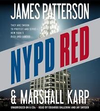 NYPD RED by James Patterson (Unabridged CD) NEW