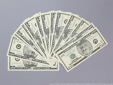 THE BEST PROP MONEY $5,000 of $50 Full Print Stack for Movie, TV, Video