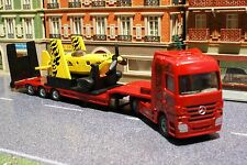 Siku 1866 - Mercedes Benz Actros Low Loader with Sporting Airplane - Scale 1:87