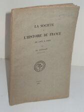 La Société de l'Histoire de France de 1833 à 1884, par Ch. Jourdain