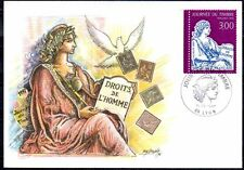 FRANCE FDC - 1997 2 JOURNEE DU TIMBRE - 3052 - LYON -SUR CARTE POSTALE