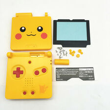 UK Yellow Housing Shell Case Cover+Lens for Nintendo Gameboy Advance SP GBA SP