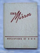 1949 COLUMBIA HIGH SCHOOL YEARBOOK SOUTH ORANGE AND MAPLEWOOD, NEW JERSEY