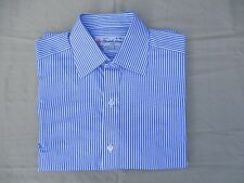 TURNBULL & ASSER - Men's Classic Striped Dress Shirt - Size 15 - Excellent!