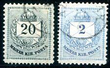 UNGARN 1881 21,25 gestempelt MISCHZÄHNUNGEN RRR (Z2744