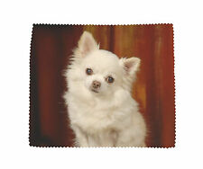 Chihuahua Dog Microfibre Glasses Camera Lens Phone Screen CD Cleaning Cloth No 3