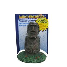 "PENN PLAX MINI EASTER ISLAND STATUE ORNAMENT 2.5"" DECOR FREE SHIPPING TO THE USA"