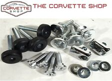 C3 Corvette Seat Hardware Repair Kit Install w/ button 1970-1973 18 pcs 43226
