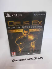 DEUS EX HUMAN REVOLUTION AUGMENTED LIMITED EDITION - SONY PS3 - NUOVO NEW