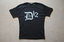 D12 DISTRESSED LOGO WOMENS SKINNY T SHIRT XL NEW OFFICIAL EMINEM DEVIL'S NIGHT