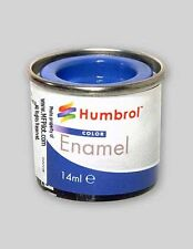 GLOSS FRENCH BLUE - Humbrol Enamel Model Paint 14ml Tin #14