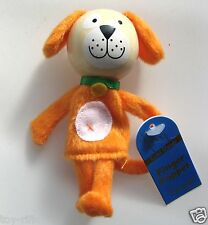 "DOG - WOODEN HEADED ""TELL A TALE"" FINGER PUPPET - FIESTA CRAFTS - BRAND NEW!"
