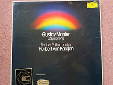 DG 2707106 Mahler Symphony No. 6 / Karajan 2 LP box NM