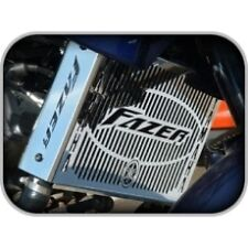 RADIATOR GRILL for YAMAHA FZS600 FAZER FZS 600, 04 to 06 (POLISHED COOLER GUARD)