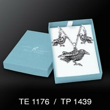 Raven .925 Sterling Silver Boxed Set by Peter Stone
