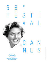 CANNES 2015 FILM FESTIVAL BERGMAN- OFFICIAL  ORIGINAL  FRENCH POSTER FAST SHIP