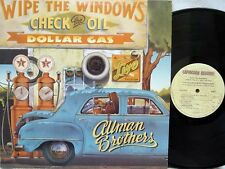 THE ALLMAN BROTHERS BAND - Wipe the Windows, Check the Oil... LP (1st US Press)