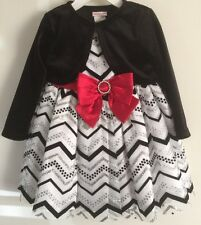 NWT~YOUNGLAND  Infant/Toddler Girl's 2-Piece Party Dress/Bolero~Size 24mos