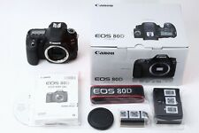 C013-658***UINUSED*** Canon EOS 80D Digital SLR  Body Only in Box from Japan
