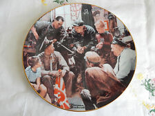 """""""The War Hero"""" Plate Rockwell'S American Heroes Norman Rockwell 00004000"""