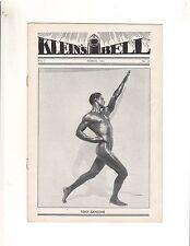 Klein's Bell Vintage Bodybuilding Magazine/Tony Sansone 3-32 Vol I #10