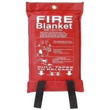 Fire Blanket Home Kitchen Work Place Safety Quick Release Fighting Protection 1M