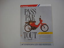 advertising Pubblicità 1990 HONDA PK 50 WALLAROO