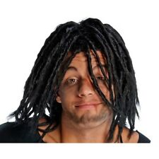 Adult Black Dreadlocks Wig Rasta Jamaican Dreads Bobsled Cool Runnings Costume