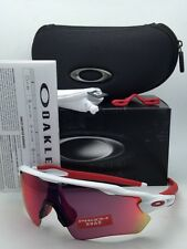 New OAKLEY Sunglasses RADAR EV PATH OO9208-05 White & Red Frame w/ PRIZM Road