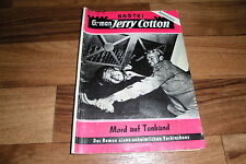 G-man:  JERRY COTTON  # 108  -- MORD auf TONBAND // Impressum 1.1.1958