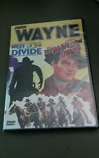 John Wayne - Double Bill: West of the Divide/The Man From Utah (DVD, 2003) NEW