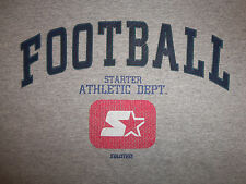 Starter Brand Clothing Athletic Dept. Football Gray 90/10 Graphic T Shirt - XL