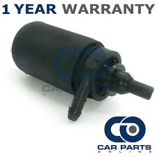 FOR ALFA ROMEO 75 (1986-1993) FRONT SINGLE OUTLET WINDSCREEN WASHER PUMP