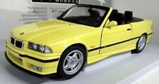 BMW M3 E36 SERIES M3 CABRIOLET DAKAR YELLOW UT MODELS 1/18