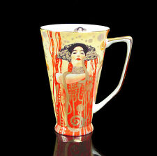 Precious Fine Bone China Oil Painting Hygieia by Gustav Coffee Set Mug Cup Gift