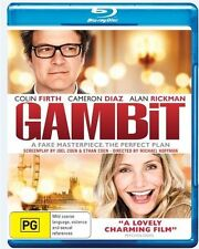 Gambit (Blu-ray, 2016)*Excellent Condition*Colin Firth*Alan Rickman