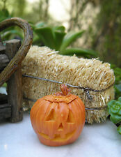 Miniature Dollhouse FAIRY GARDEN ~ Jack 'O Lantern HALLOWEEN Pumpkin ~ NEW