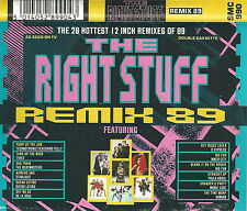 THE RIGHT STUFF REMIX 89 TECHNOTRONIC BEATMASTERS S'EXPRESS 2X CASSETTE 28 12""