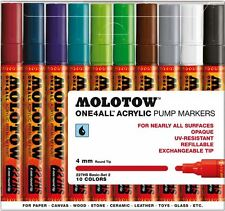 MOLOTOW ONE 4 ALL 227HS -10 PIECE DRAWING MARKER PEN SET - BASIC SET 2