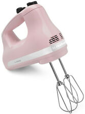New KitchenAid 5-Speed Ultra Power Hand Mixer khm512pk Pink
