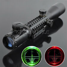 Telescopic Sight C3-9x40EG Green/Red Hunting Rifle Scope Telescope Gunsight