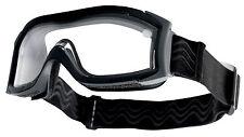 Masque balistique Bollé Tactical X1000 Noir double écran incolore X1NDEi