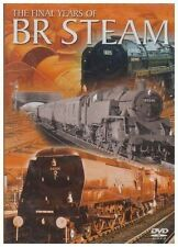 The Final Years Of BR Steam (New DVD) Railways Locomotive engines Trains