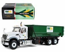 FIRST GEAR 1-34 10-4050 MACK GRANITE w ROLL OFF CONTAINER WASTE MANAGEMENT TRUCK