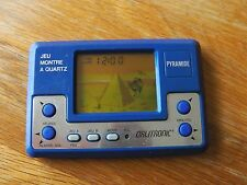 "Lcd game Orlitronic "" Pyramide "" game watch"