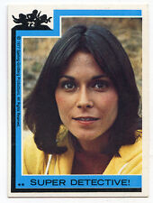 1977 Topps CHARLIE'S ANGELS TRADING CARD # 72 Kate Jackson
