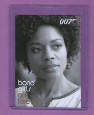 James Bond Archives 2014: BG74 Bond Girls are Forever Case Topper Card
