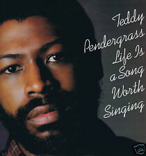 LP TEDDY PENDERGRASS LIFE IS A SONG WORTH SINGING